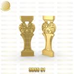 فروش فایل سه بعدی سرستون 3DSS61